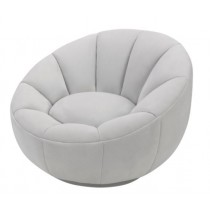 Paradise Toscana Misty Velvet Swivel Chair