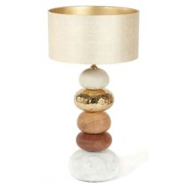 GINGER & JAGGER PEBBLE TABLE LAMP