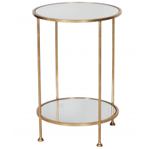 Worlds Away Chico Side Table