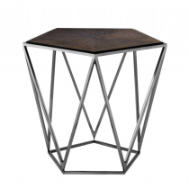 EICHHOLTZ PENTAGON SIDE TABLE