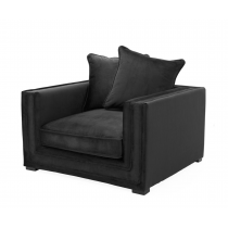 MENORCA BLACK VELVET AR CHAIR