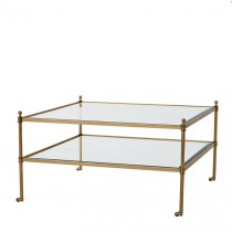 AUBREY COFFEE TABLE BRASS