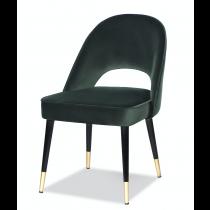 ves Kaster Castleton Green Velvet Dining Chair