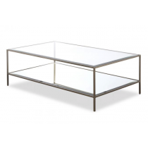 Oliver Antique Silver Coffee Table