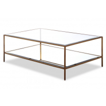 Oliver Antique Gold Coffee Table