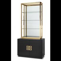 Nobbu Black Ash & Brass Cabinet