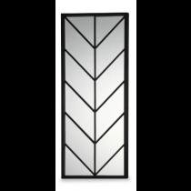Clapton Black Lacquer Mirror