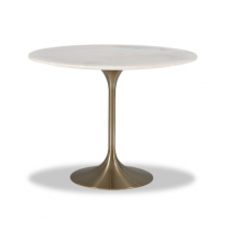Telma Large Brass Dining Table