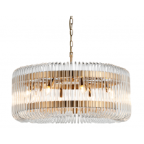 Mist Brass Chandelier
