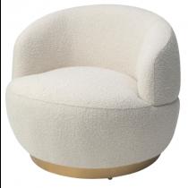 Vitale Boucle Sand Armchair