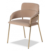 Alice Toscana Latte Dining Chair