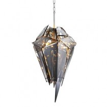 Eichholtz Shard Nickel Chandelier