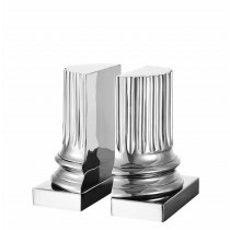 Eichholtz Pillar Book Ends Nickel