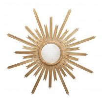 Worlds Away Starlata Gold Mirror
