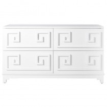 Werstler White Lacquer Dresser