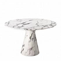 Eichholtz round dining table white
