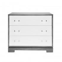 Whitney Grey Cerused Oak Chest