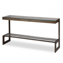 Ziggi Antique Bronze Console Table