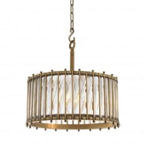 Tiziano Brass Single Lantern