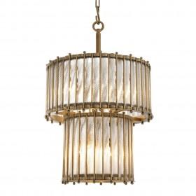 Tiziano Brass Double Lantern