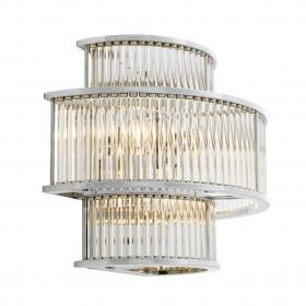 Mancini Nickel Wall Lamp