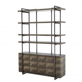 Gregorio Oak Cabinet