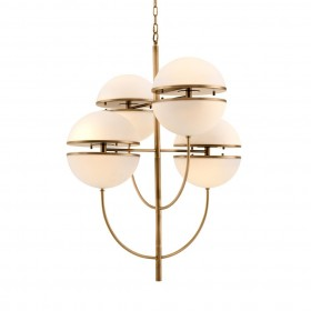 Spiridon Antique Brass Chandelier