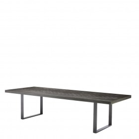 Melchior Large Charcoal Oak Dining Table