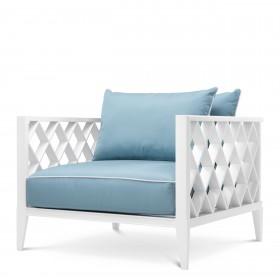 Ocean Club White Outdoor Armchair