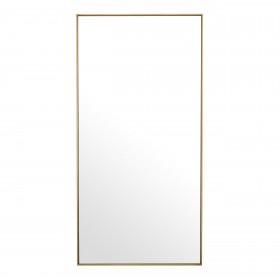 Redondo Brass Rectangle Mirror