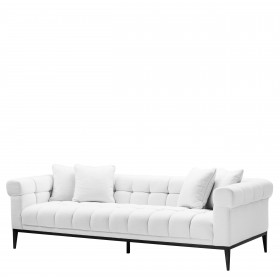 Aurelio Avalon White Sofa