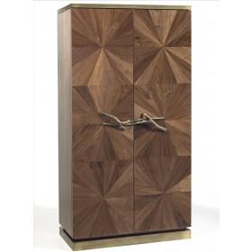 Ginger & Jagger Walnut Bar Cabinet - Customise