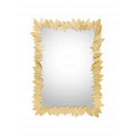 Ginger & Jagger Leaf Rectangle Mirror - Customise