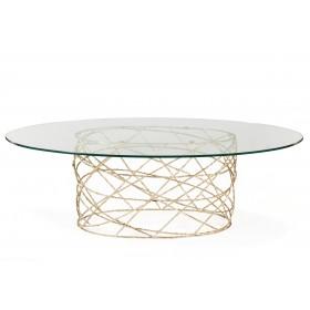 Ginger & Jagger Rosebush Oval Dining Table - Customise