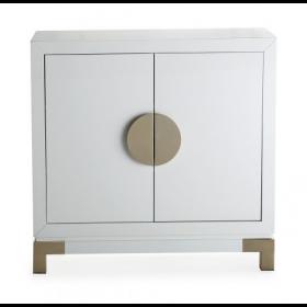 Otium White & Champagne Gold Cabinet