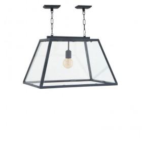 Harpers 1-Light Zinc Lamp