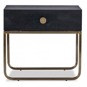 Rhapsody Crown Ash Bedside Table