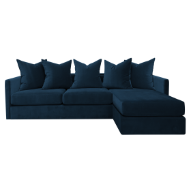 Pillow Sofa Chaise Lounge - Multiple Colours/Finishes
