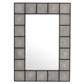 Shagreen Small Rectangle Mirror