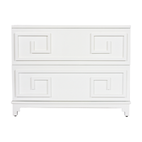 Wrenfield White Lacquer Chest