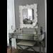 Worlds Away Jacklyn Mirror Desk