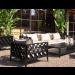 Ocean Club Black Outdoor Armchair